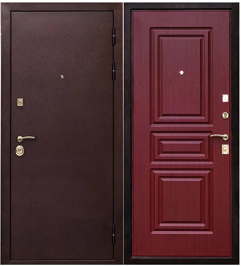 Металлическая дверь Ратибор Бордо