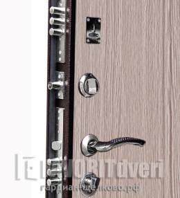Металлическая дверь Ратибор Практик Дуб беленый (п