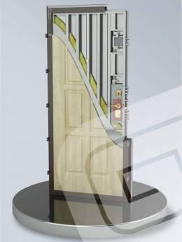Металлическая дверь ДС-8У
