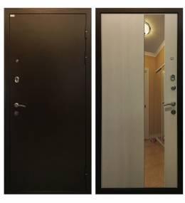 Металлическая дверь Ратибор Милан Лиственница беж