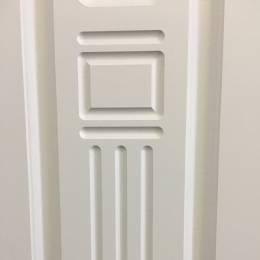 Металлическая дверь Ратибор Оптима 3К матовый белы