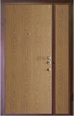 Двустворчатая стальная дверь на базе модели ДС2