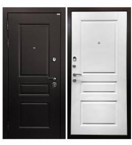 Металлическая дверь Ратибор Лондон 3К Матовый белы