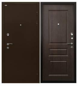 Металлическая дверь Ратибор Статус Венге Капучино