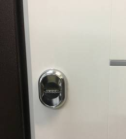 Копия Металлическая дверь Ратибор Барьер 3К Белый