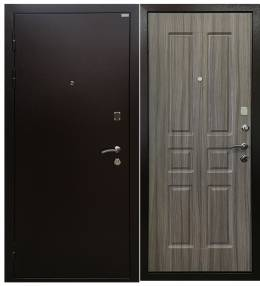 Металлическая дверь Ратибор Комфорт палисандр свет