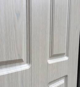 Металлическая дверь Ратибор Комфорт беленый дуб