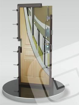 Металлическая дверь ДС-4