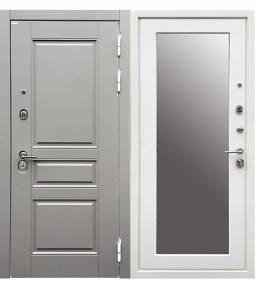 Копия Металлическая дверь Ратибор Троя 3К с зеркал