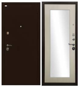 Металлическая дверь Ратибор Оптима 3К ЗЕРКАЛО Лист