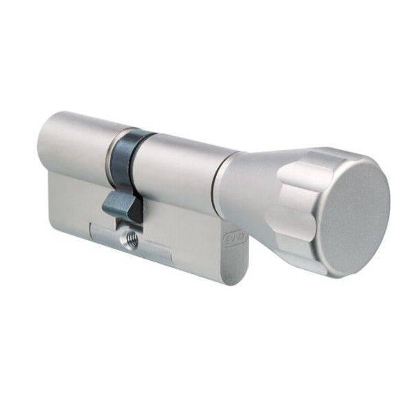 Цилиндр EVVA ICS к-в (хром)