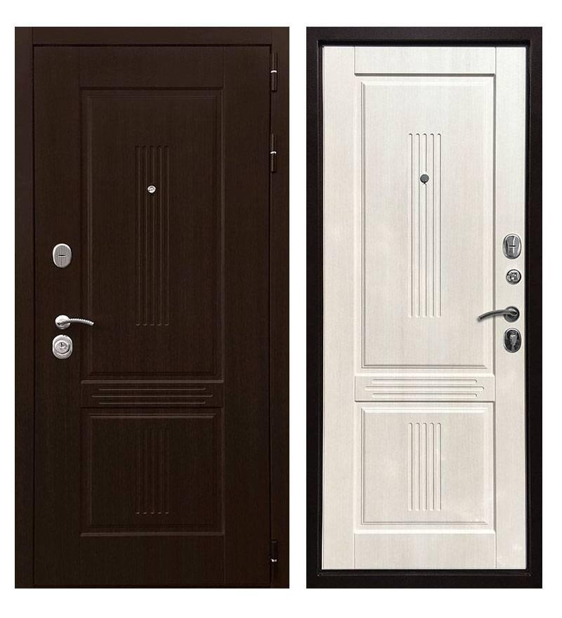 Металлическая дверь Ратибор Консул 3К Лиственница беж