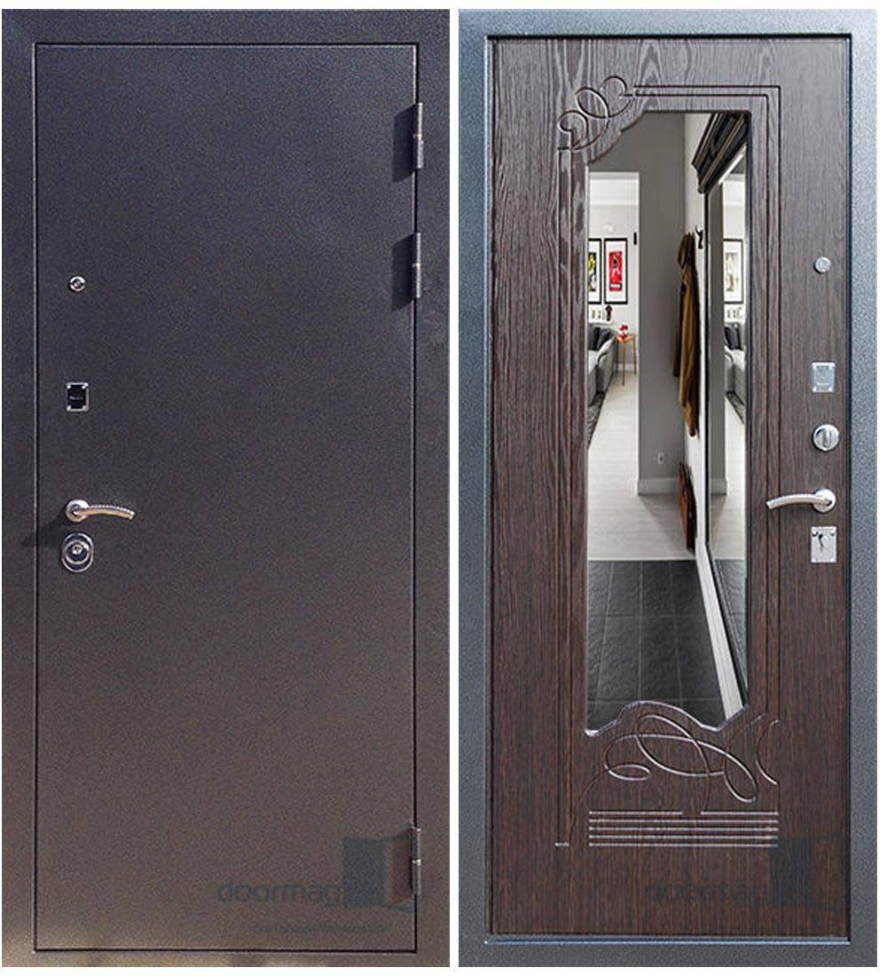 Металлическая дверь Ратибор Милан Венге
