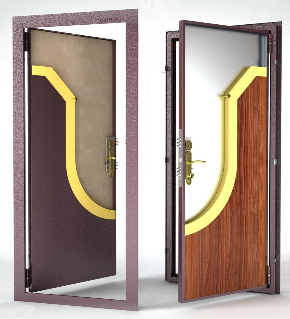 Металлическая дверь Гардиан ДС-1 (внутреннего открывания)