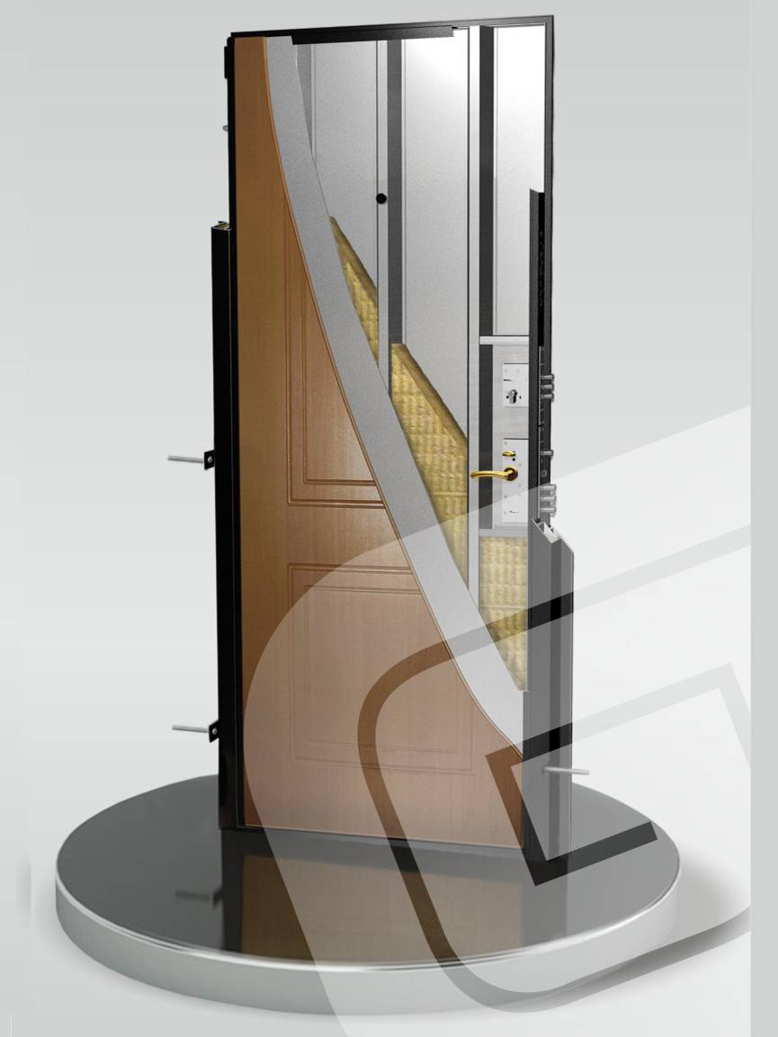 Металлическая дверь Гардиан ДС-2