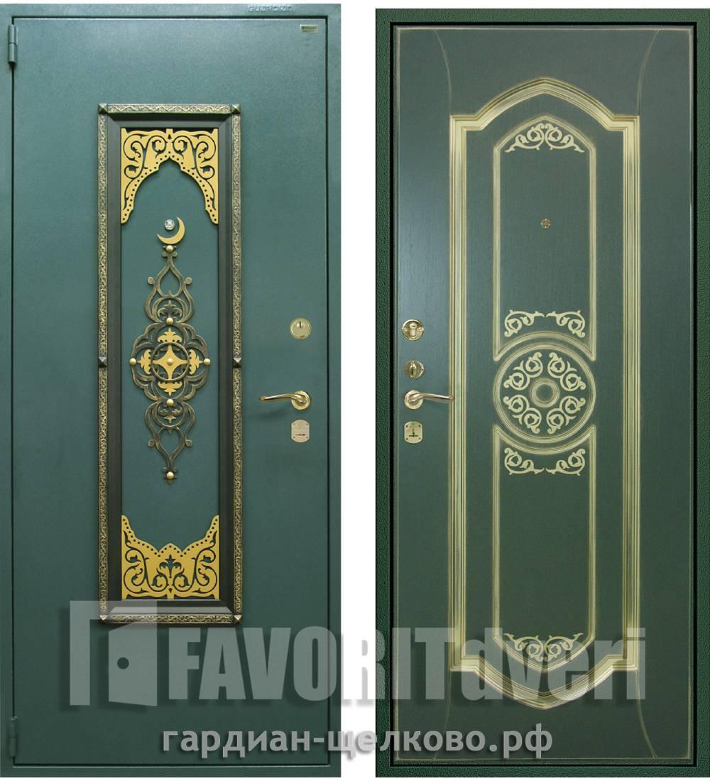 Металлическая дверь Гардиан ДС-2 Медина (замки Гардиан 30.15 + Гардиан 32.01 + бронепакет)