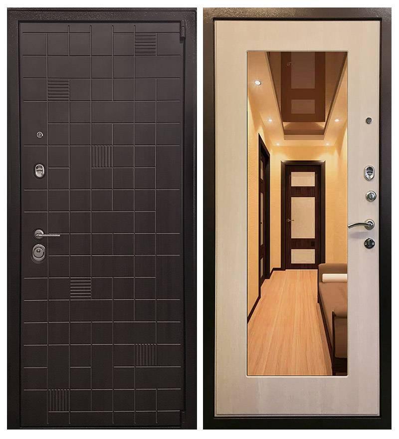 Металлическая дверь Ратибор Силуэт 3К  Экодуб
