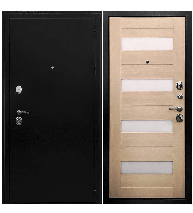 Металлическая дверь Ратибор Резидент 3К Экодуб