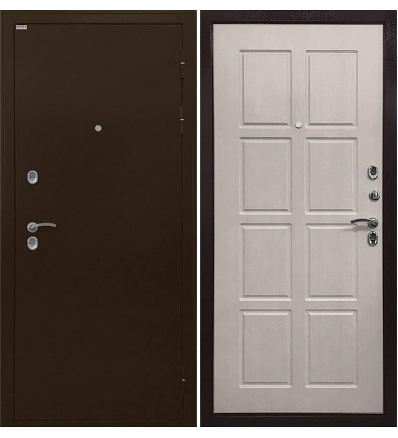 Входная дверь Ратибор Термоблок 3К  (Лиственница беж)