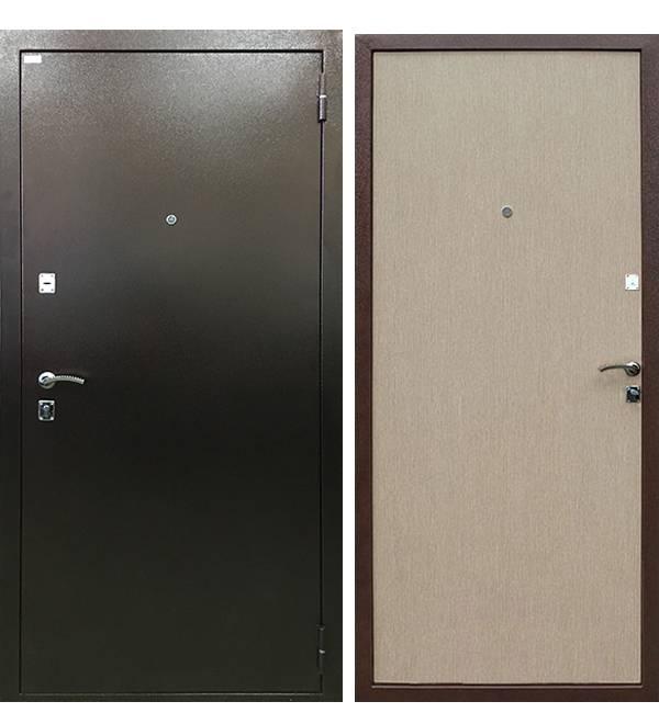 Металлическая дверь Ратибор Форт Дуб беленый