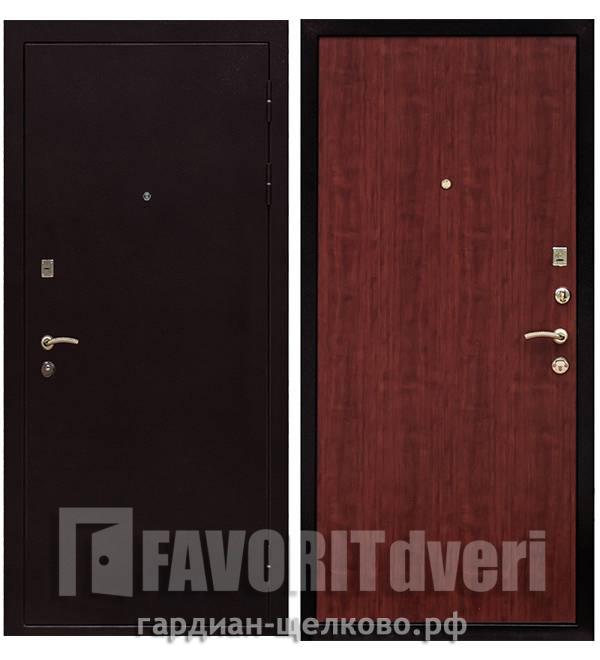 Металлическая дверь Ратибор Практик Итальянский орех