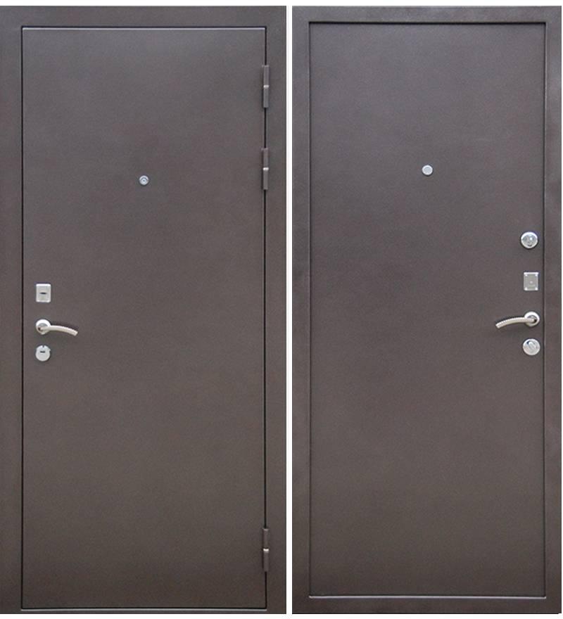 Металлическая дверь Ратибор Зима