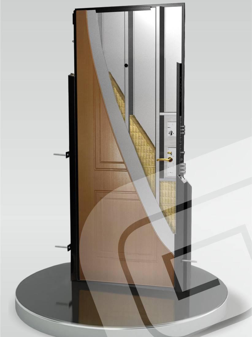 Метеллическая дверь Гардиан ДС-2 «Рубеж»