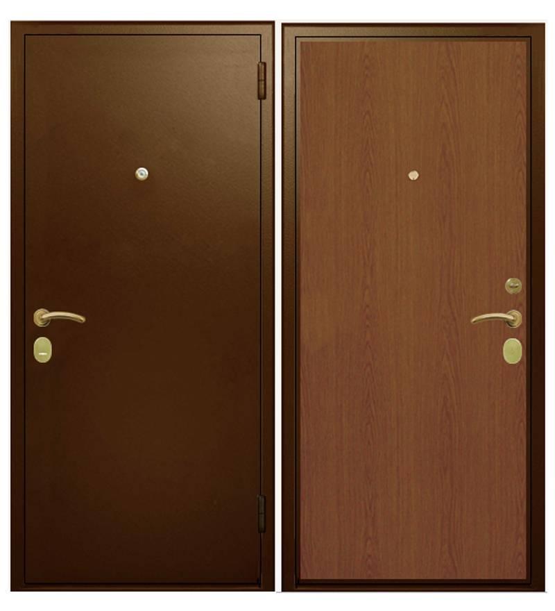Металлическая дверь Гардиан ДС-3У базовая (замок Гардиан 21.12)