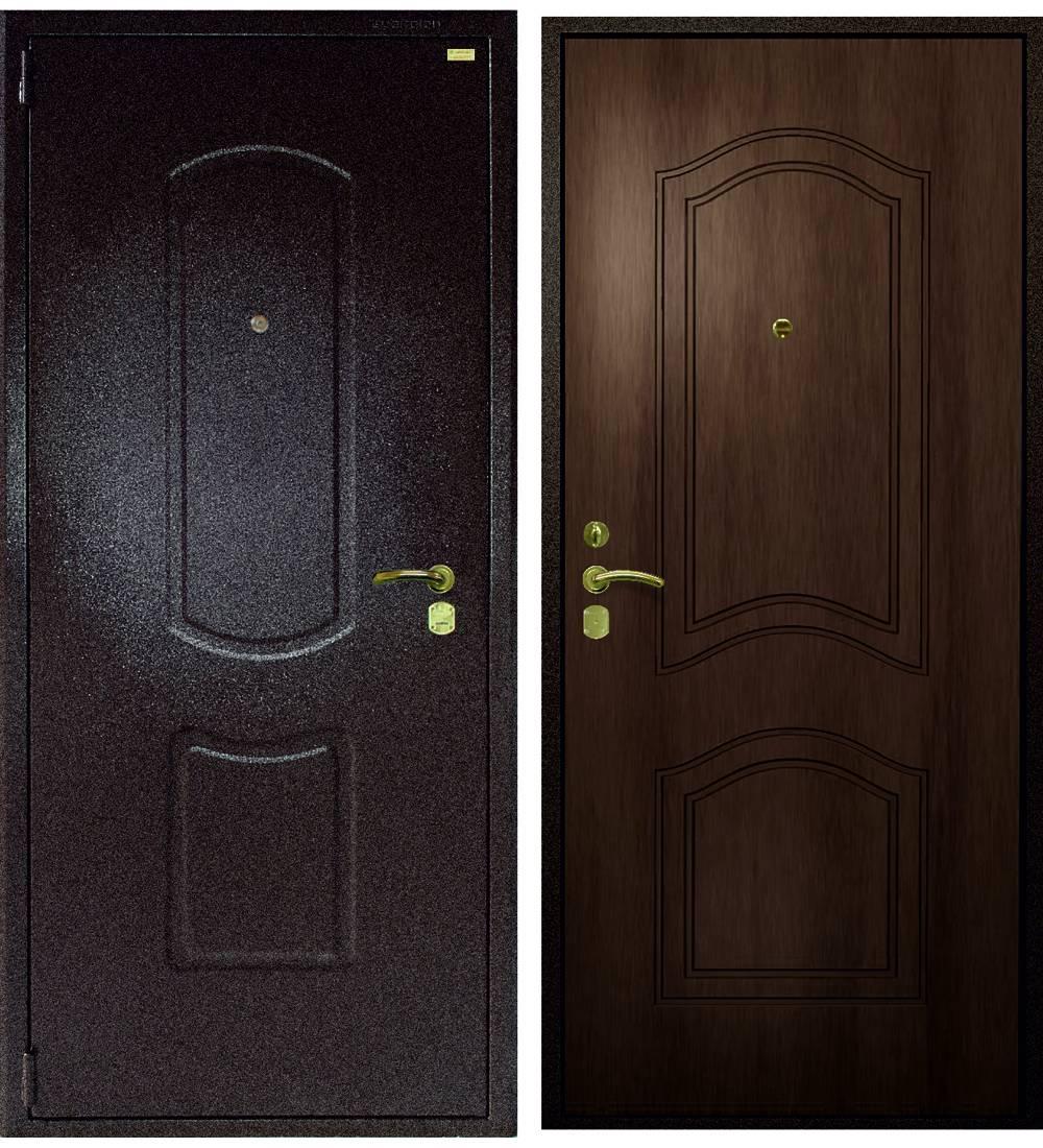 Металлическая дверь Гардиан ДС-2 Эталон (замок Гардиан 30.11)