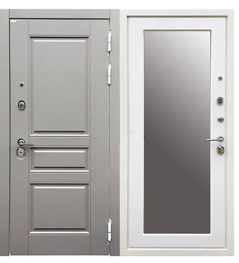Металлическая дверь  Ратибор Лондон 3К Зеркало