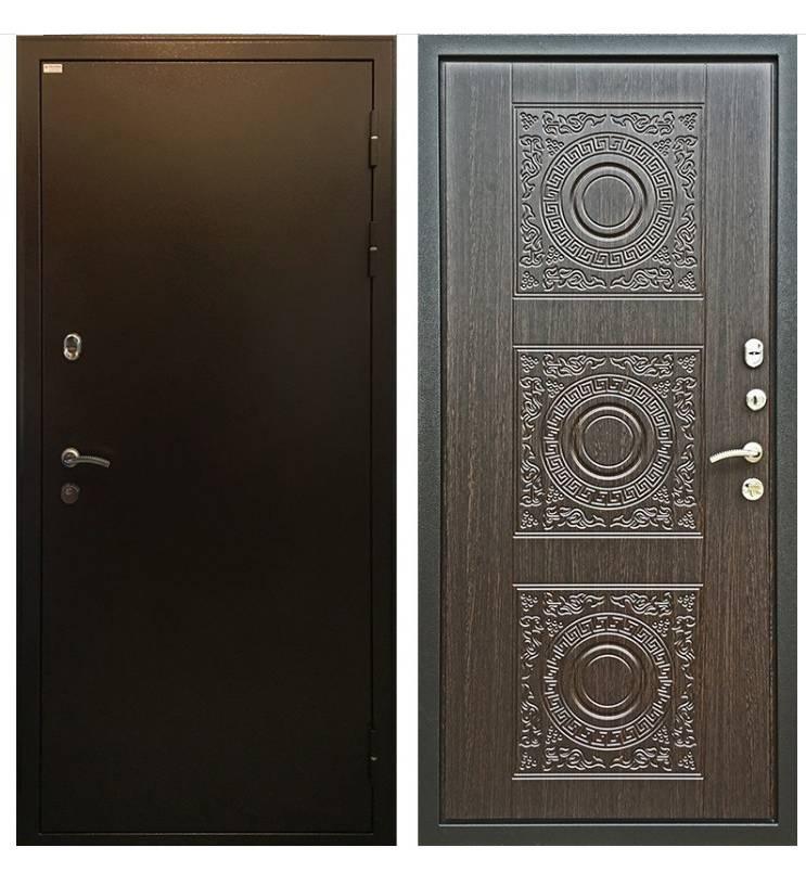 Металлическая дверь Ратибор Спарта Венге