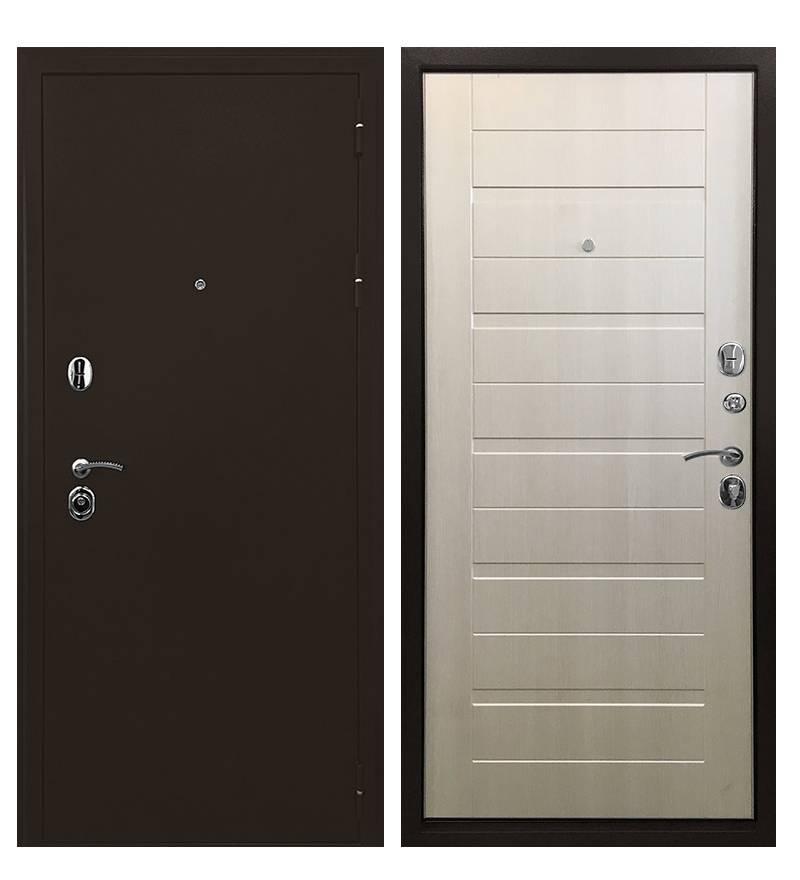 Копия Металлическая дверь Ратибор Тренд 3К (Лиственница беж)