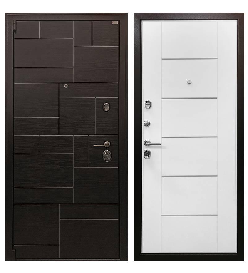Металлическая дверь Ратибор Омега 3К белый ясень