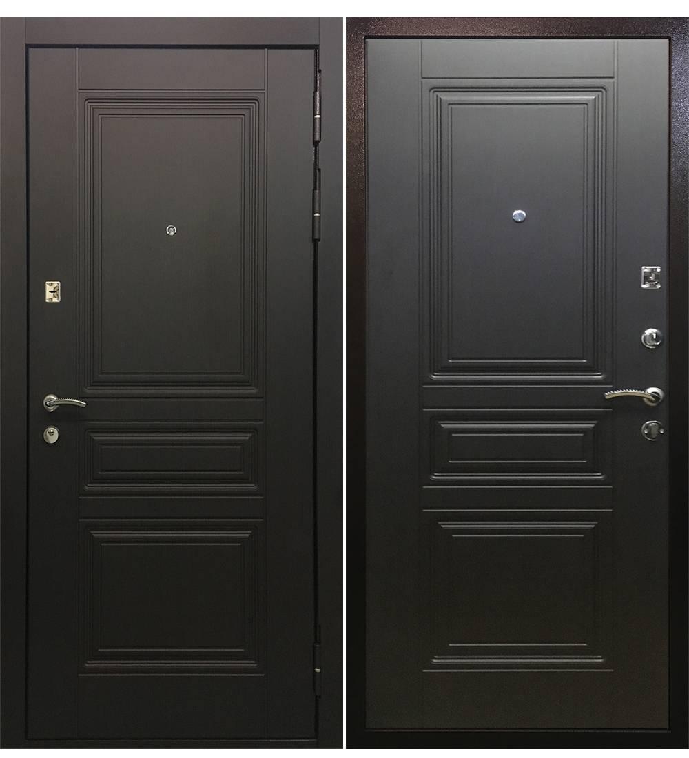 Металлическая дверь Ратибор Лондон Венге