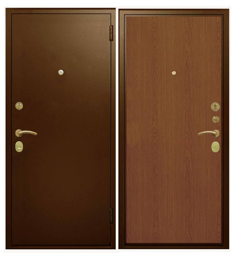 Металлическая дверь Гардиан ДС-3У базовая (замок Гардиан 21.12 + Гардиан 32.01)