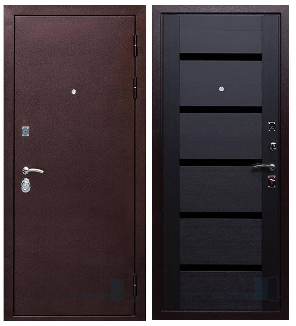 Металлическая дверь Ратибор Ника Венге