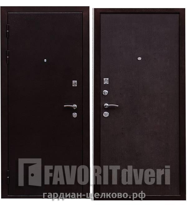 Металлическая дверь Ратибор Практик Венге