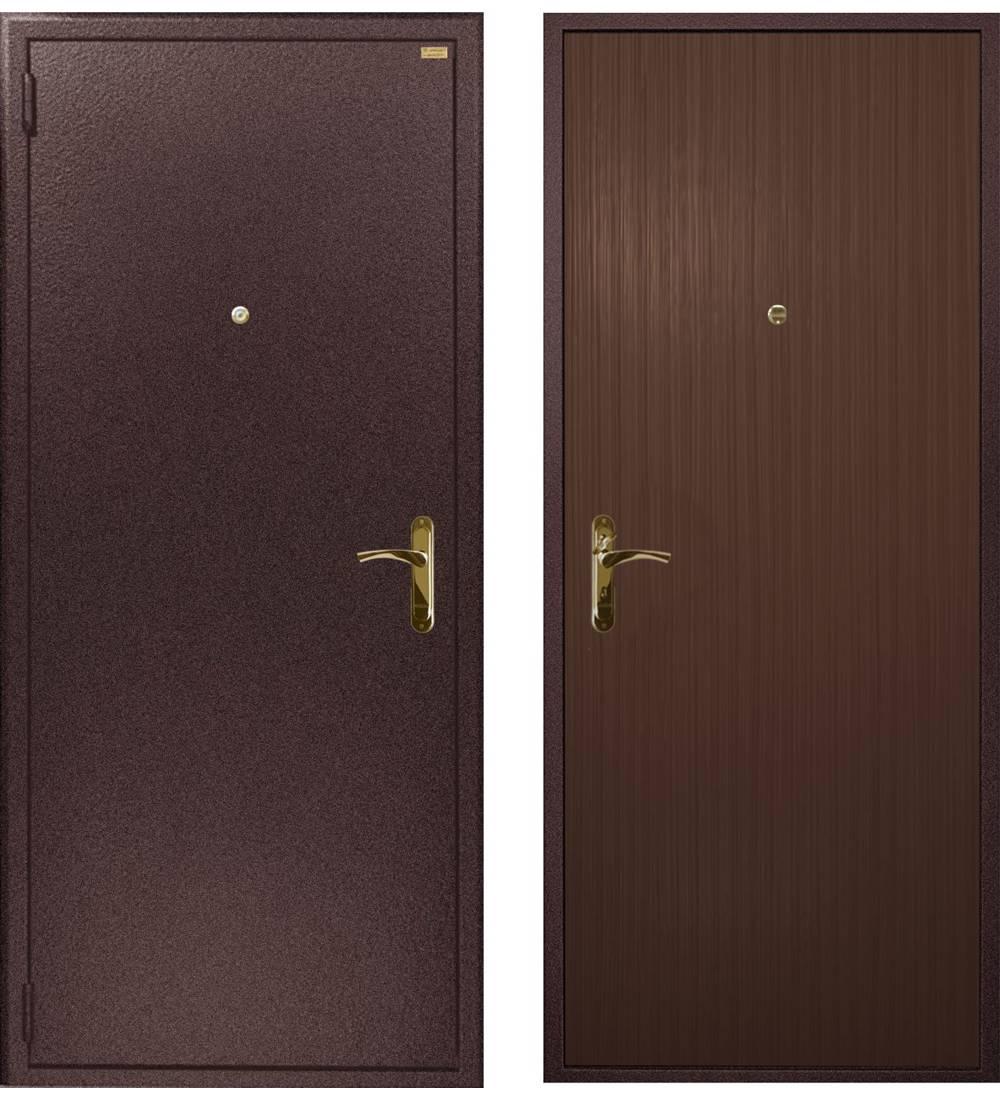 Металлическая дверь Гардиан ДС-1 Стандарт (замок Гардиан 30.12)