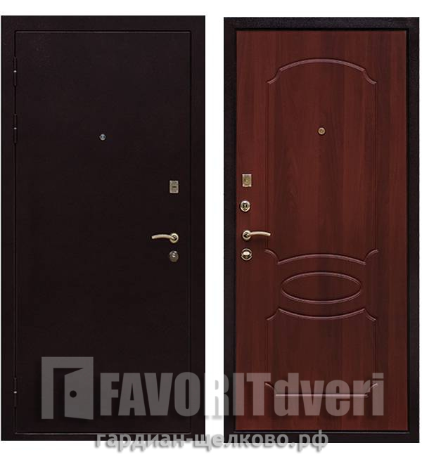 Металлическая дверь Ратибор Модерн