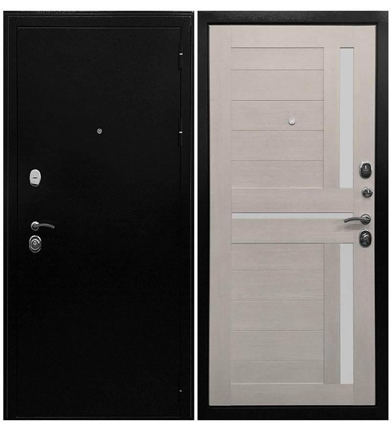 Входная дверь Ратибор Авангард 3К  (Лиственница беж)