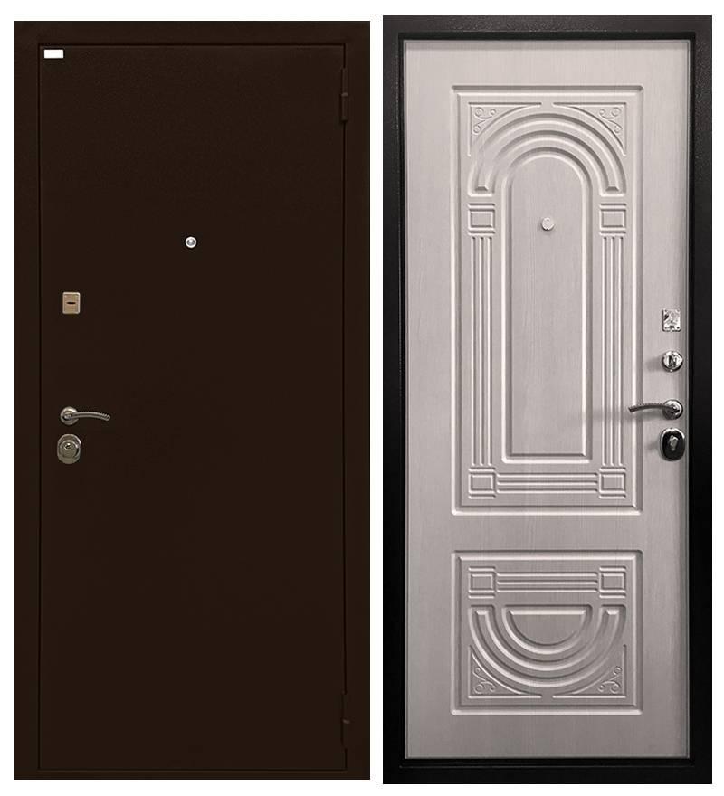 Металлическая дверь Ратибор Оптима 3К Экодуб