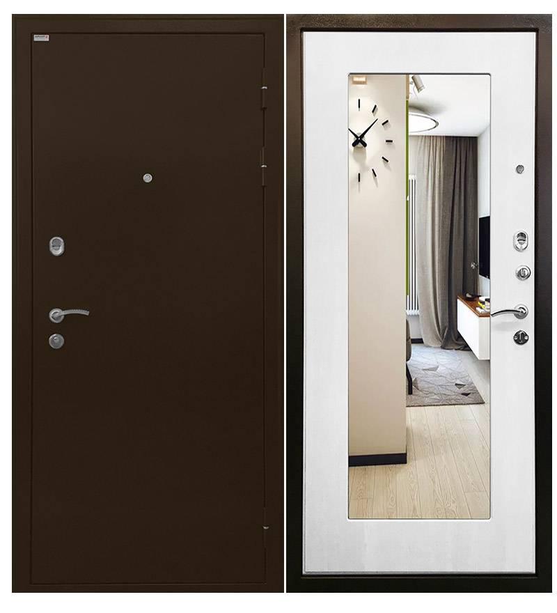 Металлическая дверь Ратибор Милан Белый ясень