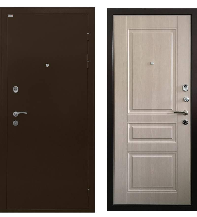 Металлическая дверь Ратибор Статус Экодуб