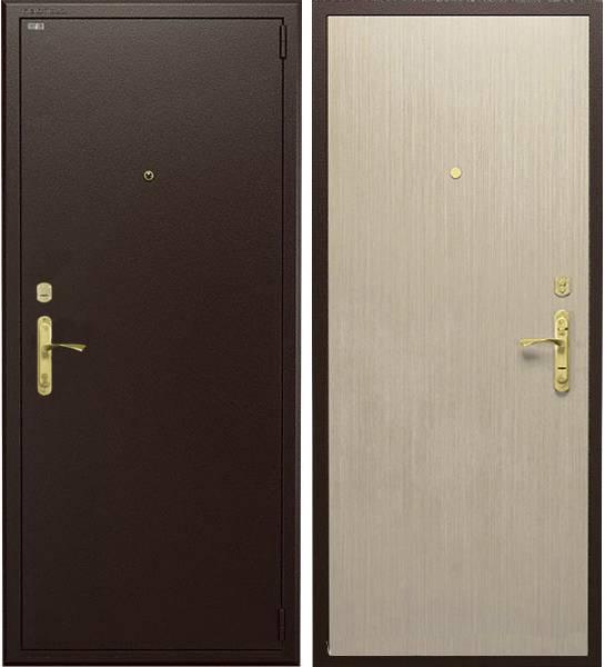 Металлическая дверь Гардиан ДС1 базовая (коричневая / венге светлый), Гардиан 30.12 + Гардиан 32.01