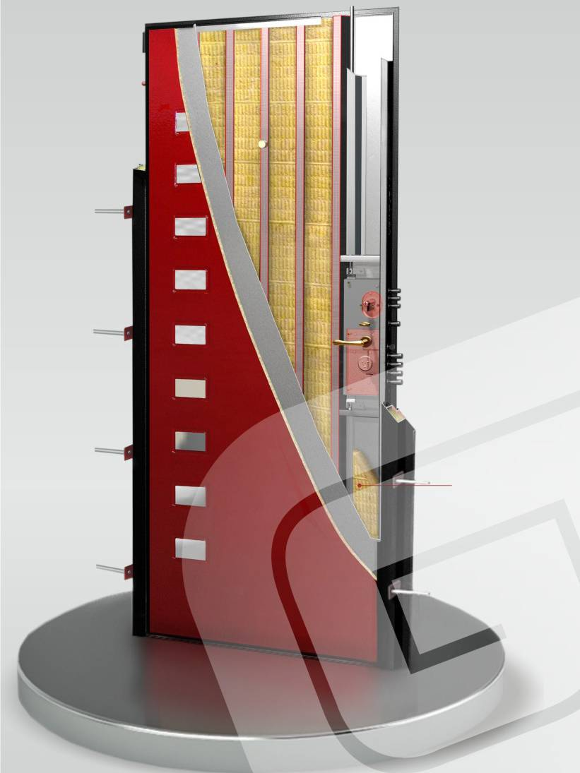 Металлическая дверь Гардиан ДС-3У