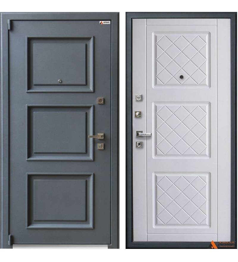 Входная дверь Арма серии Оптима New Триптих