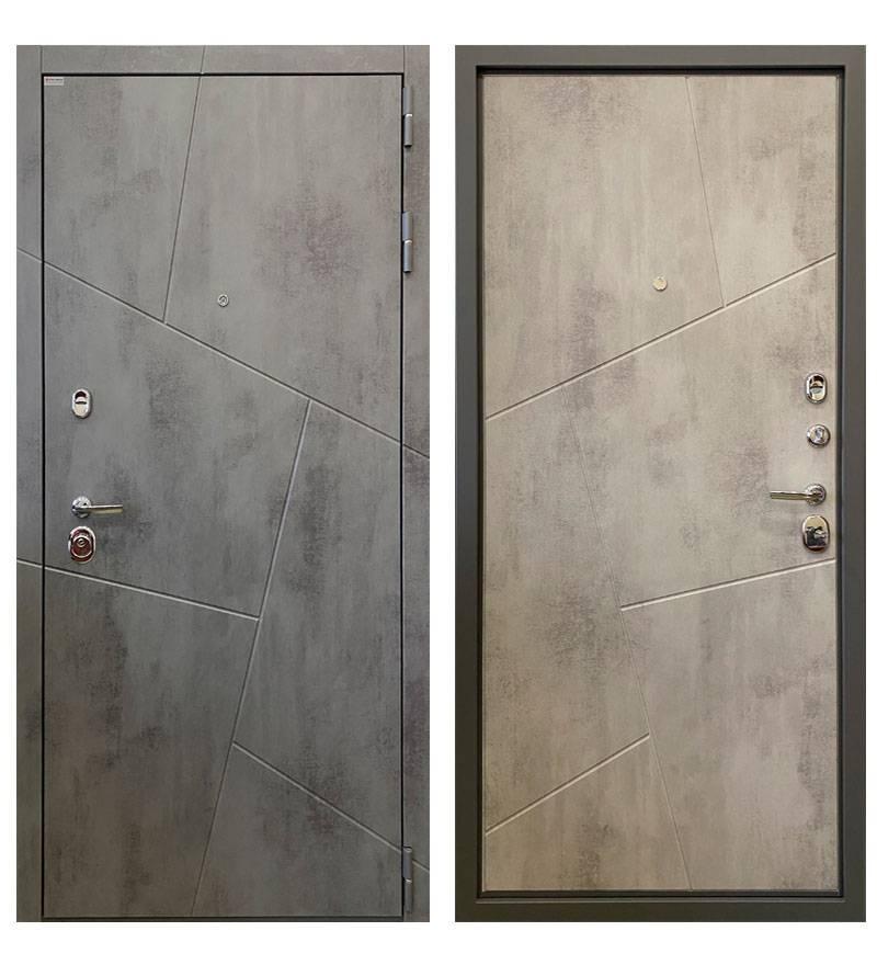 Металлическая дверь Ратибор  Орион 3К (Бетон светлый)