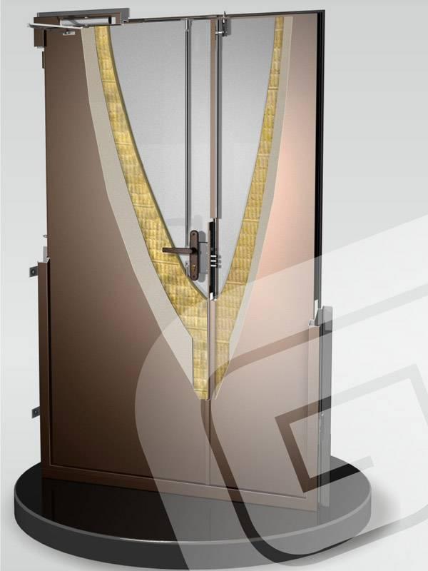 Металлическая дверь Гардиан ППЖ-2