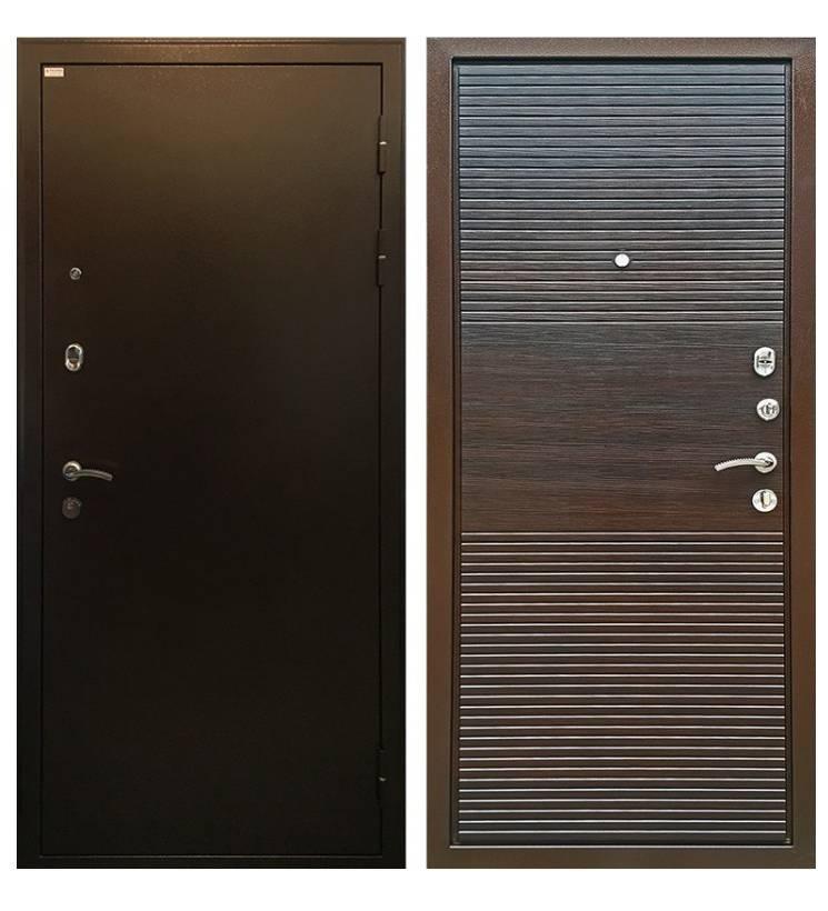 Металлическая дверь Ратибор Т Горизонт ЭкоВенге