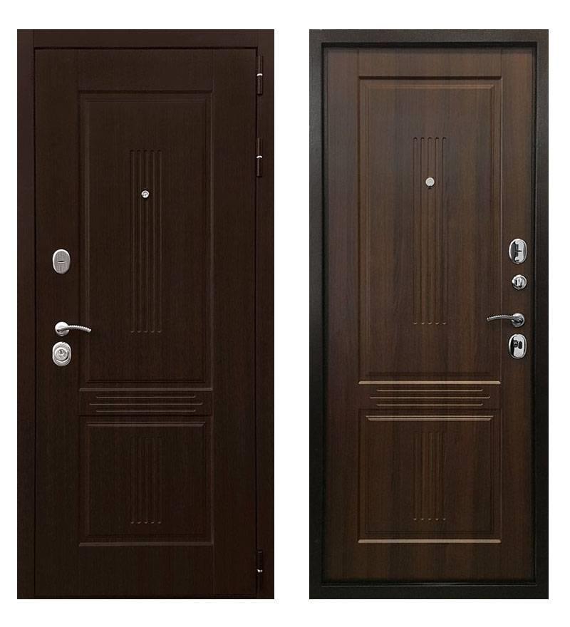 Металлическая дверь Ратибор Консул 3К Орех бренди
